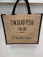 Dead Posh Large Jute Bag - Duntocher